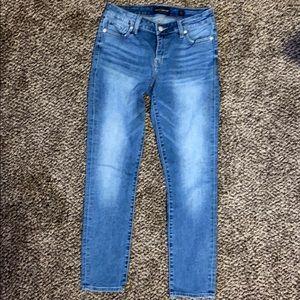 Lucky Brand Lolita skinny straight leg jeans.